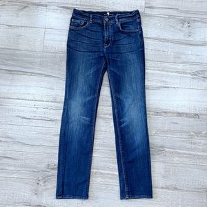 Mens 7 for All Mankind Slimmy Stretchy Jeans